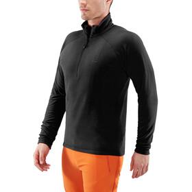 Haglöfs Astro T-shirt zippé Homme, true black